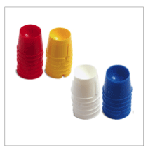 Picture of Disposable Dappen Dishes - ASSORTED COLOURS (200)