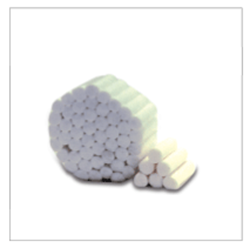Picture of COTTON ROLLS  -  Size 2  (Pack of 1000)