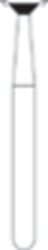 Picture of FG Diamond Burs - INVERTED CONE (014)  -  Size 023 MEDIUM Grit  (5/pack)