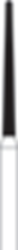 Picture of FG Diamond Burs - ROUND END TAPER (200)  -  Size 012 COARSE Grit  (5/pack)