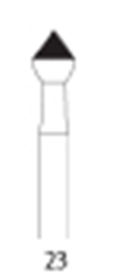 Picture of FG Diamond Burs - OCCLUSAL CONTOURING  -  Size 018 FINE Grit  (5/pack)