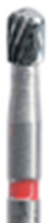 Picture of 12 Bladed TUNGSTEN CARBIDE Finishing Burs  -  Pear (233)  - Size 014  (5/pack)