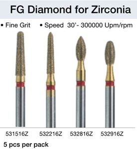 Picture for category Diamond for Zirconia - FG