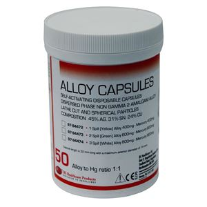 Picture for category Amalgam Capsules 3 Spill Non Gamma 2