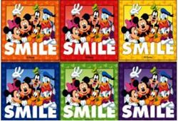 Picture of Disney Smile Stickers  (100 per Roll)