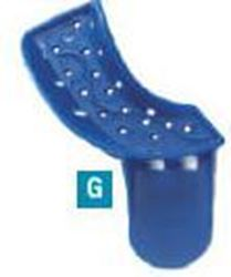 Picture of Disposable Impression Trays  -  [No. 7]  Partial Upper Right / Lower Left  (25/pack)