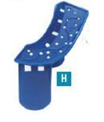Picture of Disposable Impression Trays  -  [No. 8]  Partial Upper Left / Lower Right (25/pack)