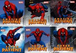 Picture of Spiderman Stickers  (100 per Roll)