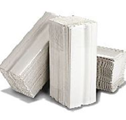 Picture of Flushable 2ply WHITE C-Fold  Hand Towel (96 Sheets x 24 Sleeves) VFFHT2