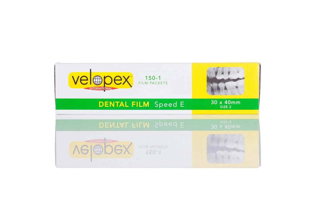 Picture of Velopex E Speed Intra-Oral Film  --  Size 2 Adult  (150/pack)