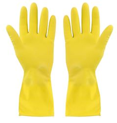 Picture of HOUSEHOLD Gloves Yellow - Small