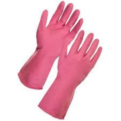Picture of HOUSEHOLD Gloves Pink - Medium