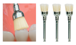 Picture of Junior Bristle Brushes - Natural Bristle / Animal Hair - Latch (100/Pack)