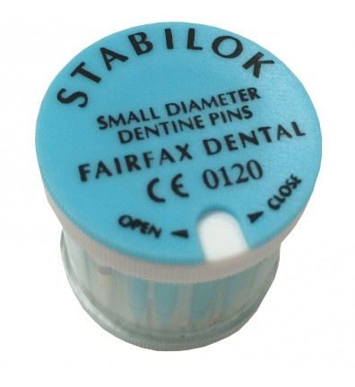 Picture of Stabilok Stainless Steel Pins - Standard Kit - Small/Blue/0.60mm (20 pins + drills)