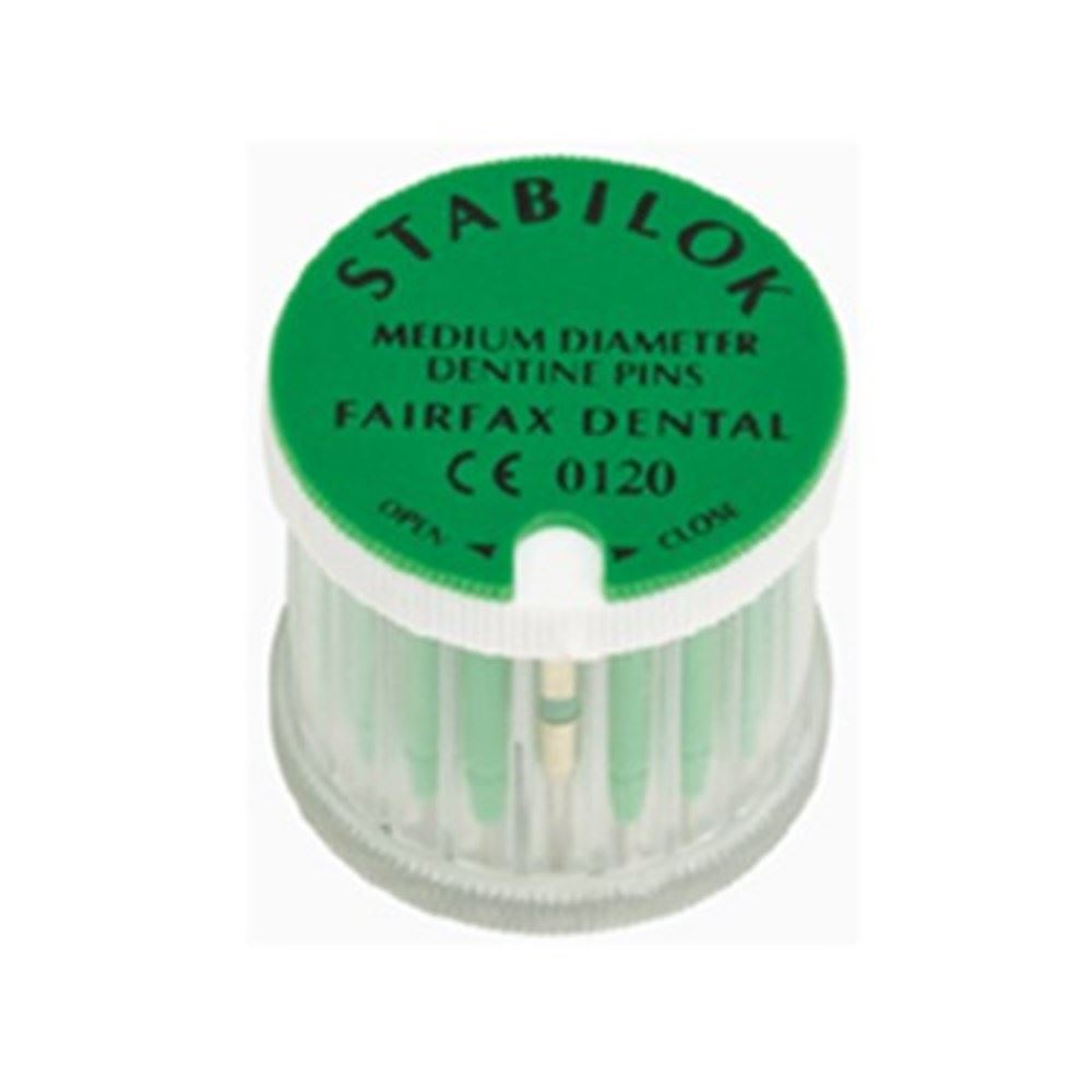 Picture of Stabilok Stainless Steel Pins - Economy Kit - Medium/Green/0.76mm (100 pins + drills)
