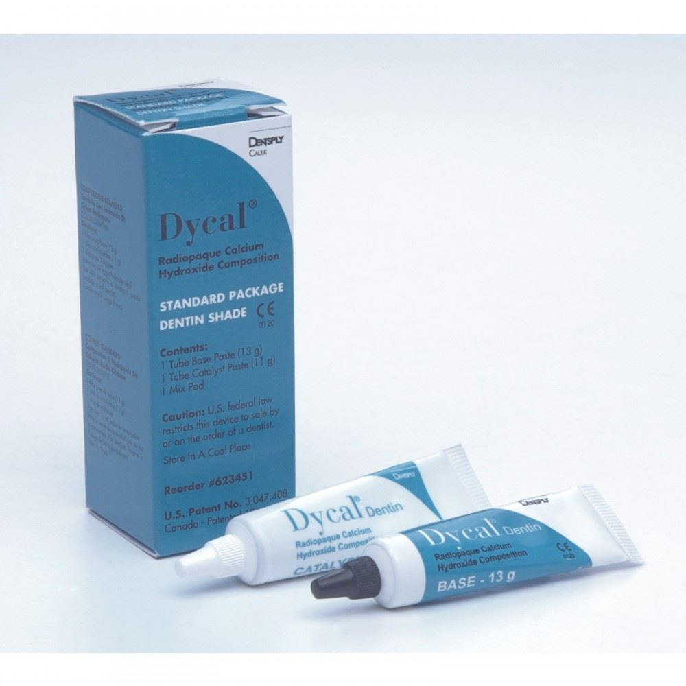 Picture of Dycal Ivory - Radiopaque Calcium Hydroxide Cement Sealer - Standard Pack (Base 13g, Catalyst 11g, M