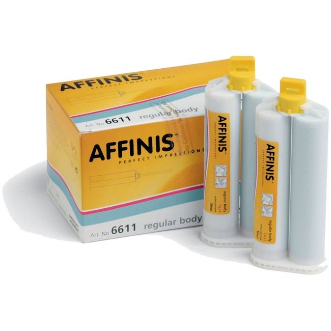 Picture of Affinis Fast Regular Body  (2 x 50ml Cartridges 12 x mixing tips)