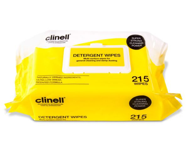 Picture of Clinell Detergent Wipes 22cm x 28cm (215)