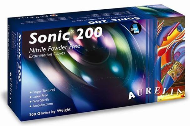 Picture for category Sonic Blue Nitrile Glove (200/box)