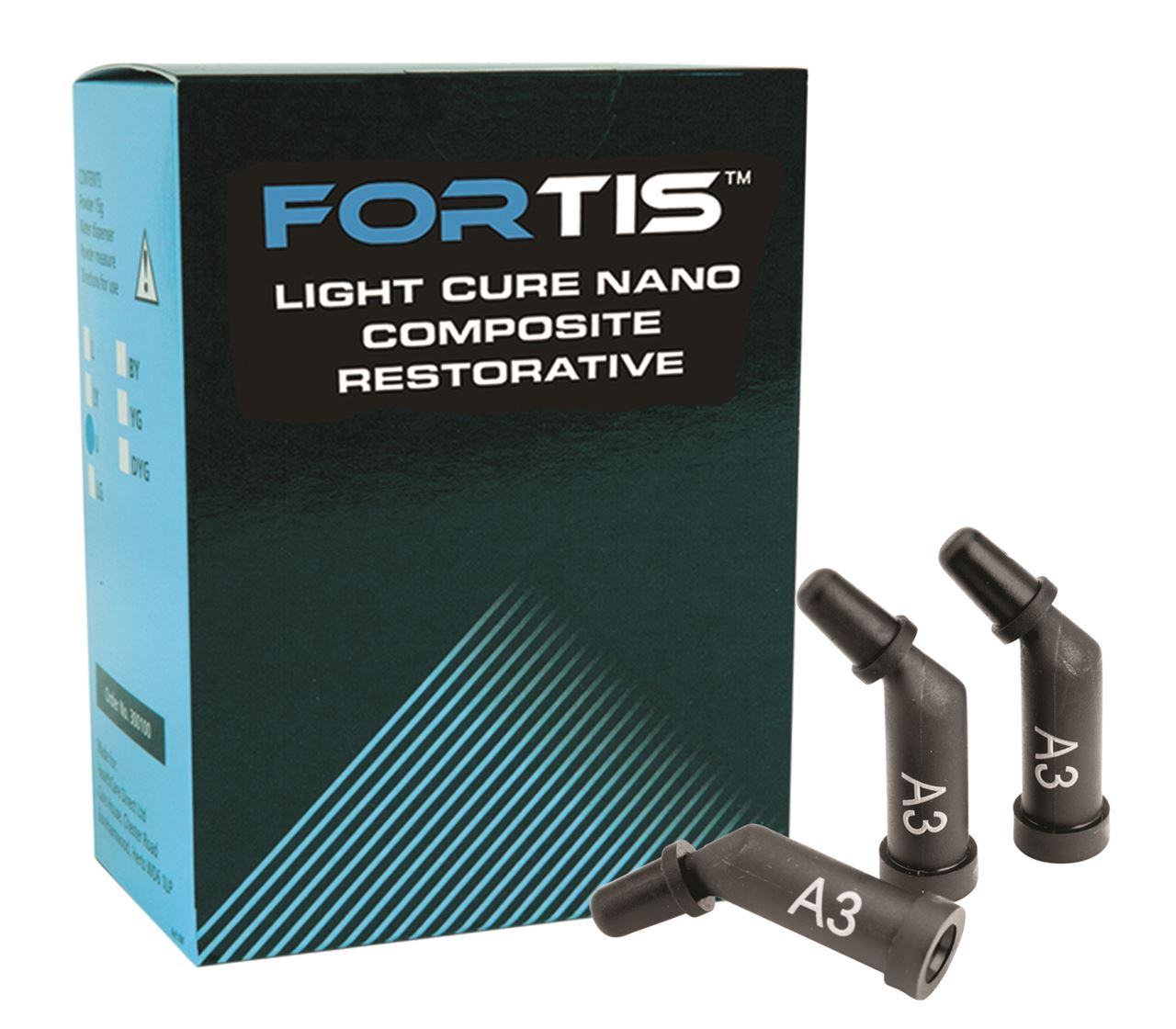 Picture of Fortis Nano Composite Capsules  -  Shade A2  (20 x 0.25g)