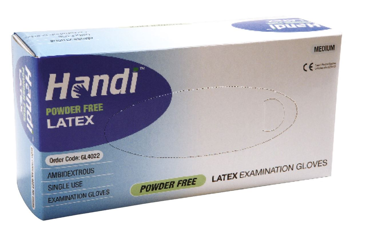 Picture for category Latex Powder Free (100/box)